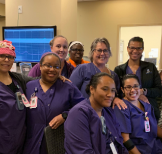 Seton L&D Nurses Celebrate First Patient in Epic